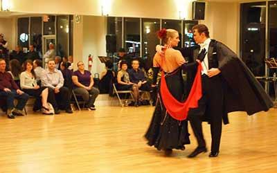 Exhibition Dancing at Ultimate Ballroom Dance Studio in Memphis