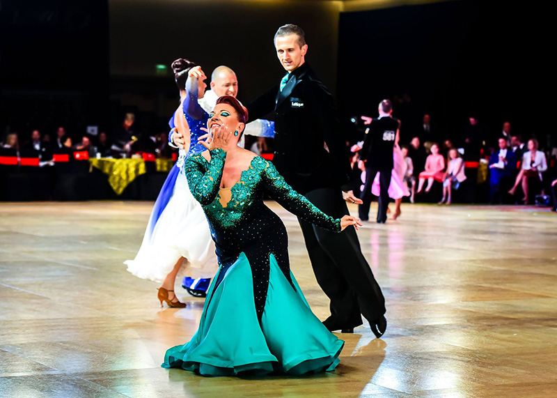 Competitive Dancing at Ultimate Ballroom Dance Studio in Memphis