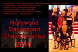 Hollywood Dancesport Championship - 2010