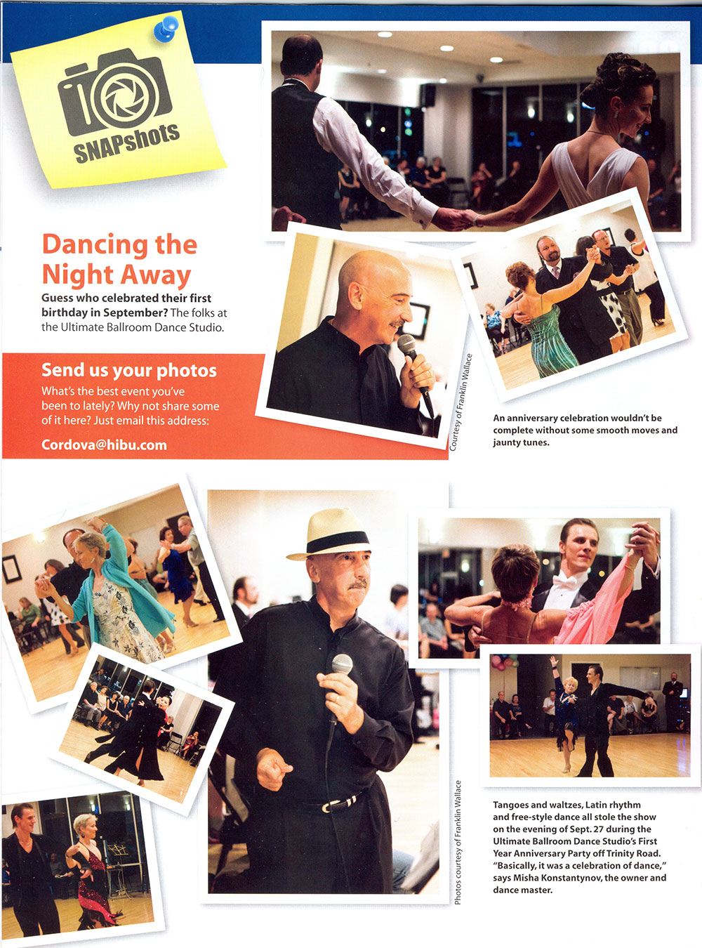 Cordova Life Magazine - December 2013 - Ultimate Ballroom