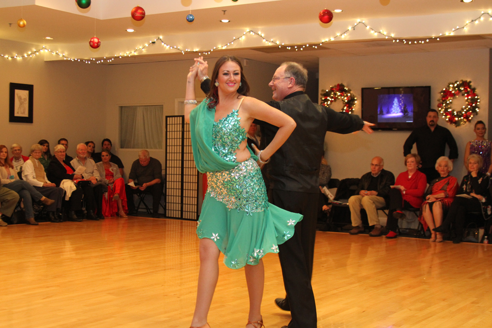 Holiday Ballroom Dance Showcase (Dec. 15, 2017)