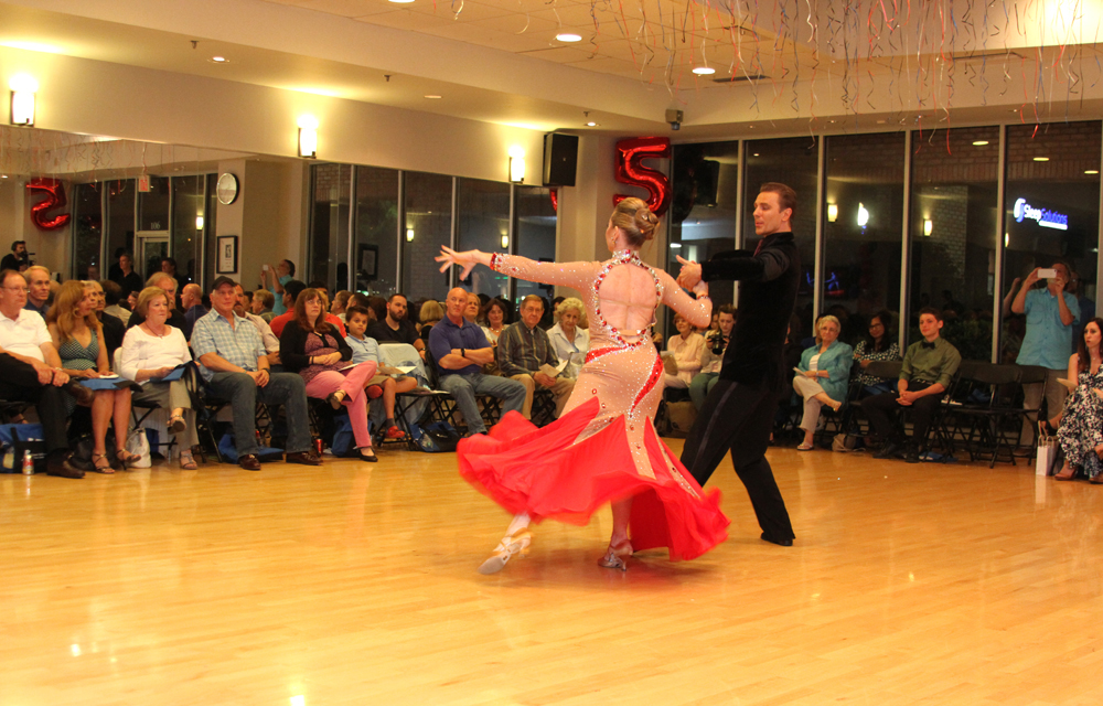 Natalie and Misha performing Foxtrot