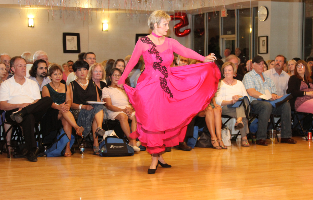 Paso Doble dance at Ultimate Ballroom Dance Studio