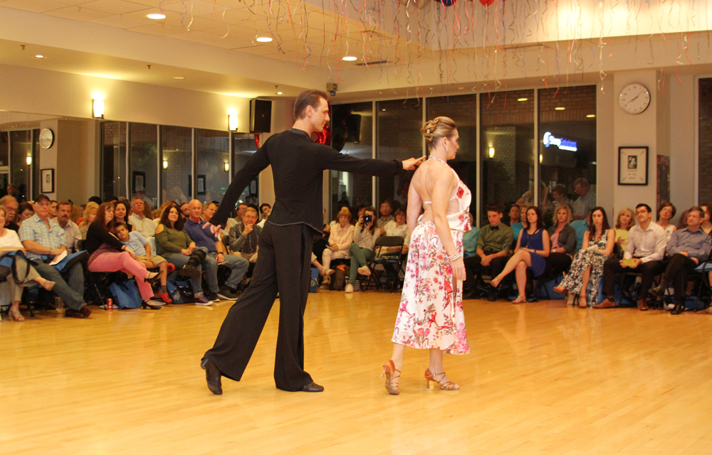 Misha and Natalie performing Rumba
