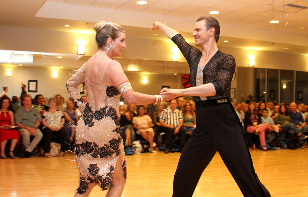 Samba dance at Ultimate Ballroom Dance Studio
