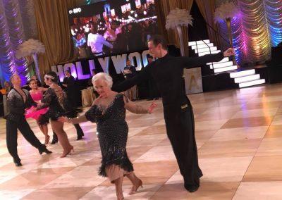 Josie and Misha showcasing their dance