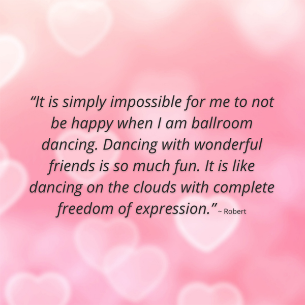 What I Love About Ballroom Dancing