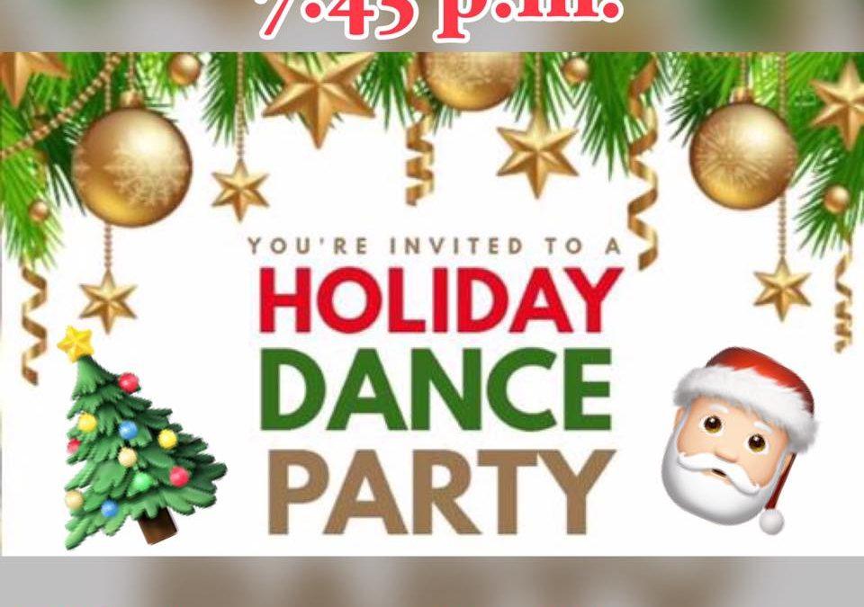 Holiday Party (Fri, Dec. 21)