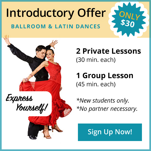 Introductory Special - $30 - Ballroom & Latin Dances