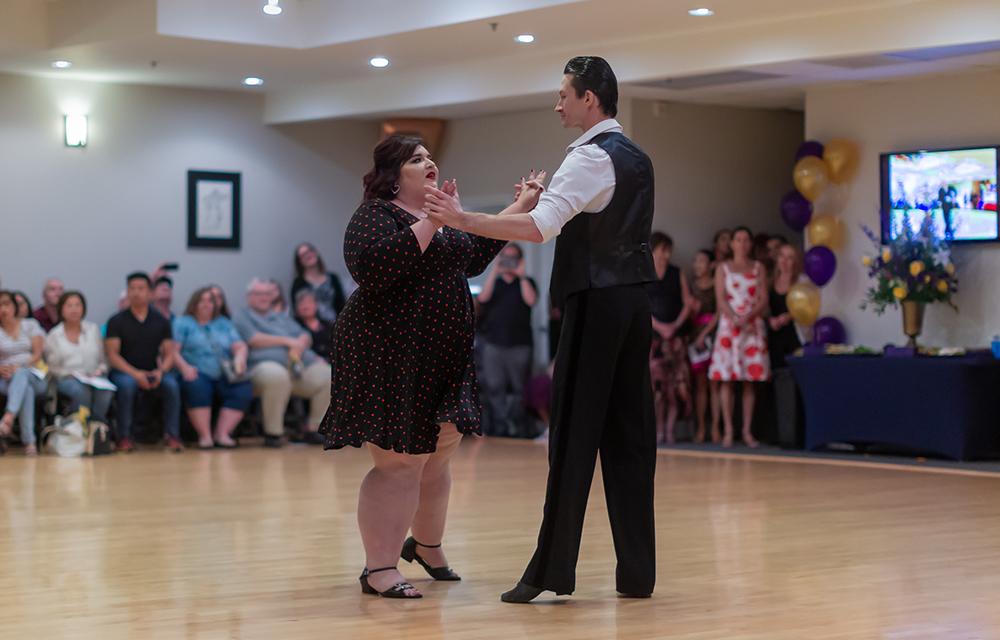 Swing dance at Ultimate Ballroom Dance Studio