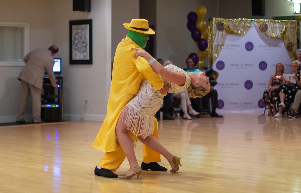 Quickstep dance at Ultimate Ballroom Dance Studio