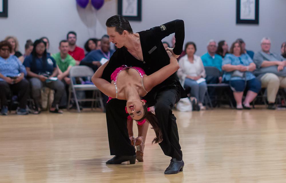 Salsa dance at Ultimate Ballroom Dance Studio