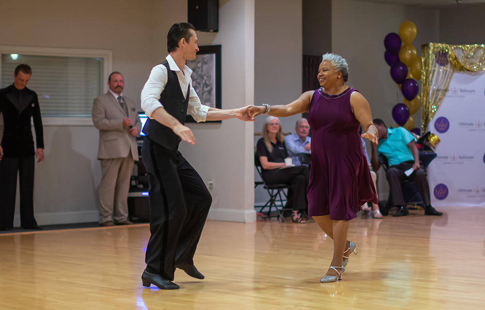 Swing (West Coast) dance at Ultimate Ballroom Dance Studio