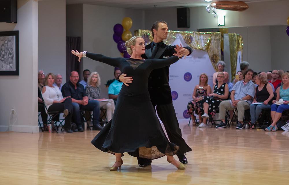 Tango dance at Ultimate Ballroom Dance Studio