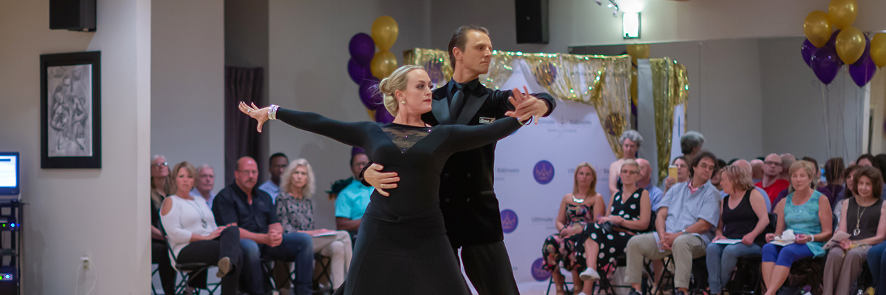 Ultimate Ballroom dance instructors