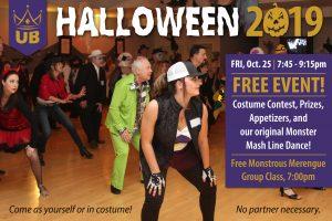 Ultimate Ballroom Halloween Party 2019