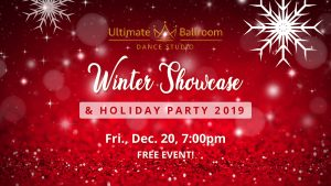 Ultimate Ballroom Holiday Party and Winter Showcase 2019