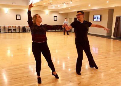 Private dance lesson at Ultimate Ballroom Dance Studio