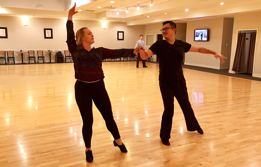 Private dance lesson at Ultimate Ballroom Dance Studio