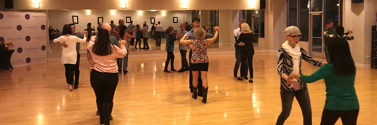 Ultimate Ballroom group dance class