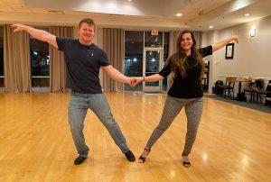 UB Dance students Bryce and Nikki
