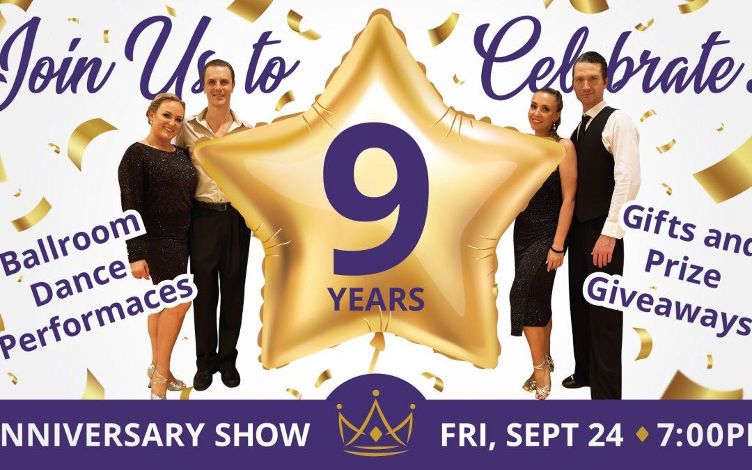 9-Year Anniversary Showcase