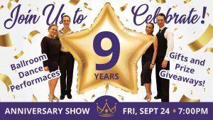 Ultimate Ballroom 9-Year Anniversary Showcase