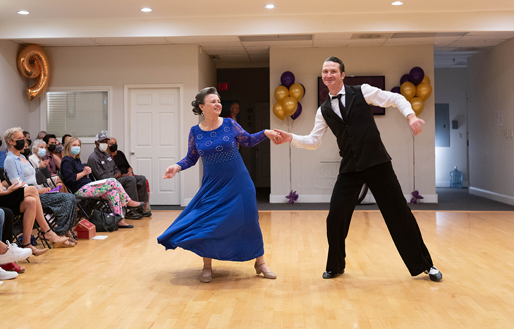 Foxtrot Show Dance at Ultimate Ballroom Dance Studio