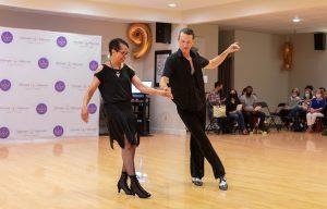 Samba Show Dance at Ultimate Ballroom Dance Studio