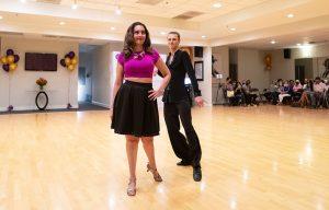 Jive Show Dance at Ultimate Ballroom Dance Studio