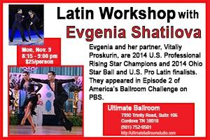 Latin Workshop with Evgenia Shatilova - November 2015