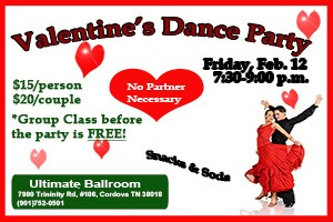 Valentines Dance Party February 2015