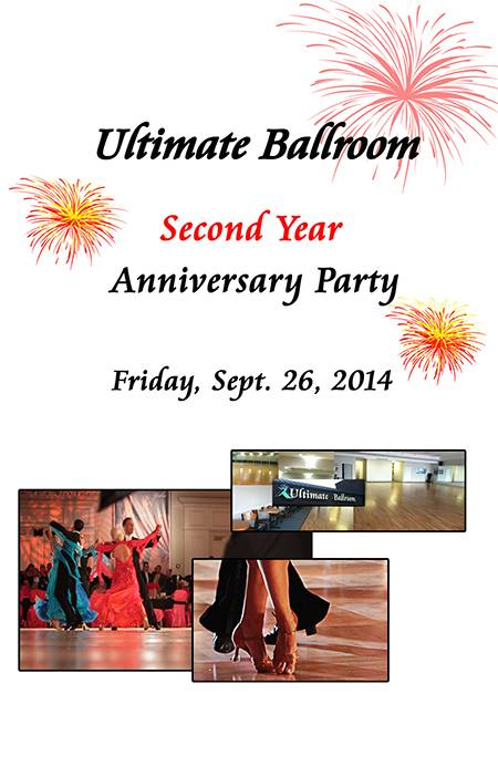 Ultimate Ballroom Second Year Anniversary Party