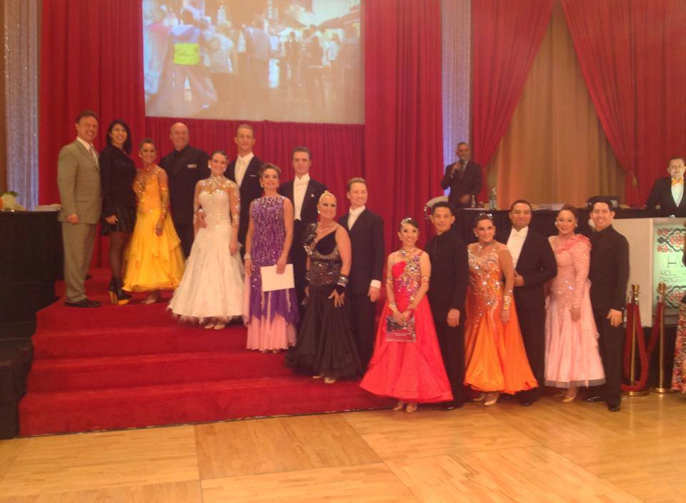and Teacher at 2014 Hollywood Dancesport