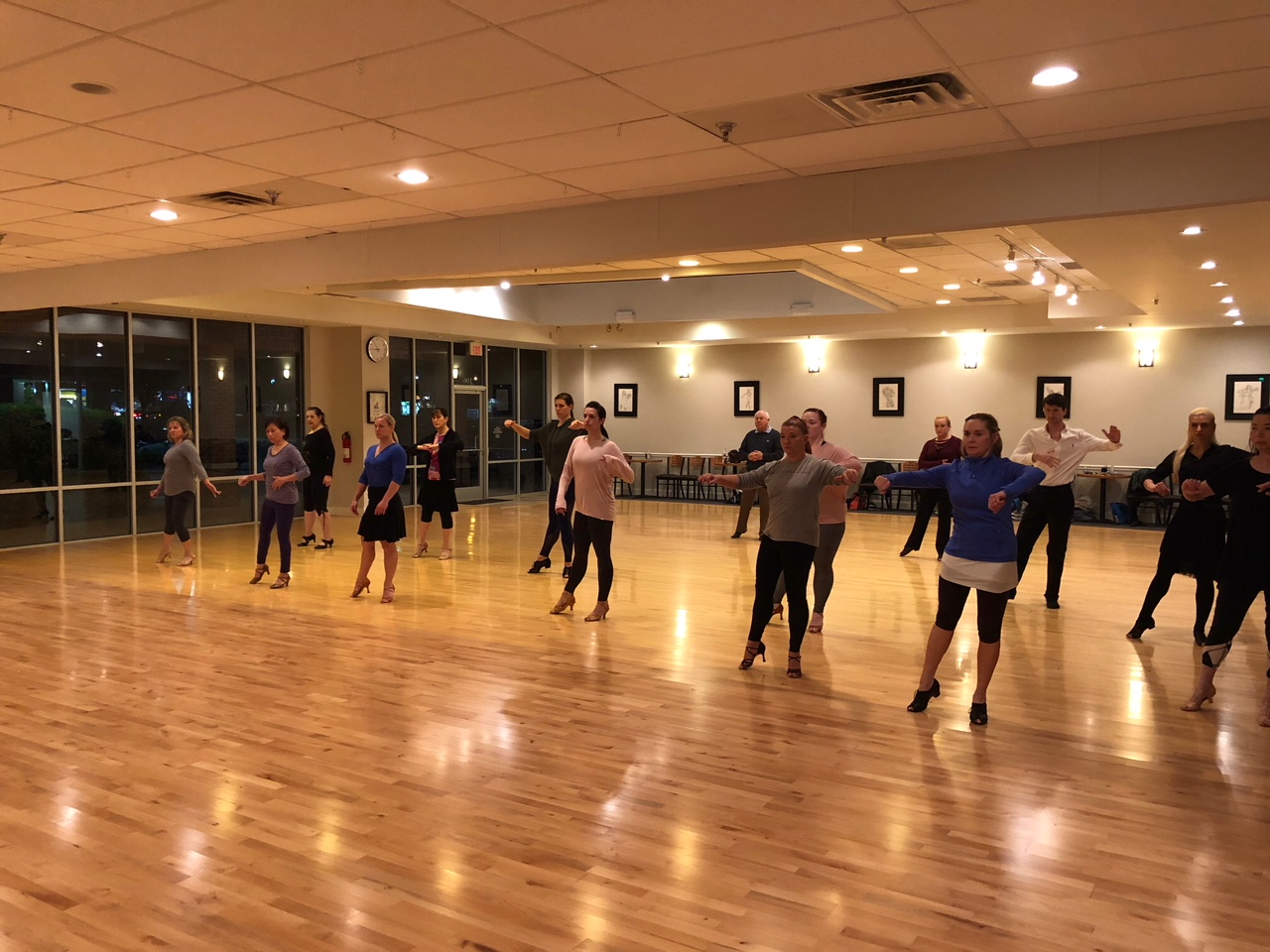 Ultimate Ballroom Dance Studio workshop