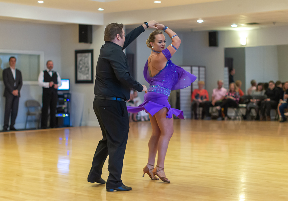 Cha Cha at Ultimate Ballroom Studio Summer Showcase 2019