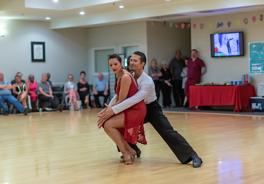 Rumba at Ultimate Ballroom Studio Summer Showcase 2019