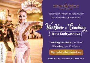 Workshop and coaching with Irina Kudryashova