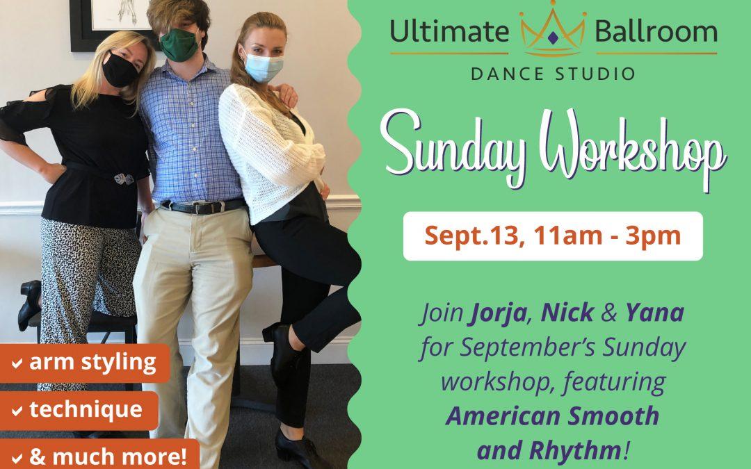Sunday Dance Workshop