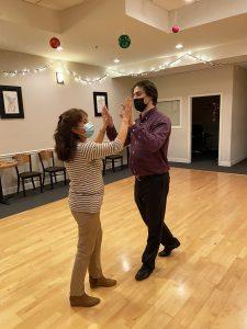 Dance Student Margarita Cabers