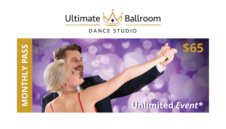 Monthly Pass for Ultimate Ballroom events