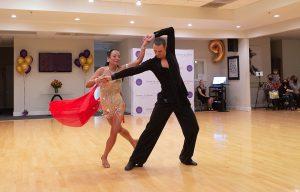 Rumba Show Dance at Ultimate Ballroom Dance Studio