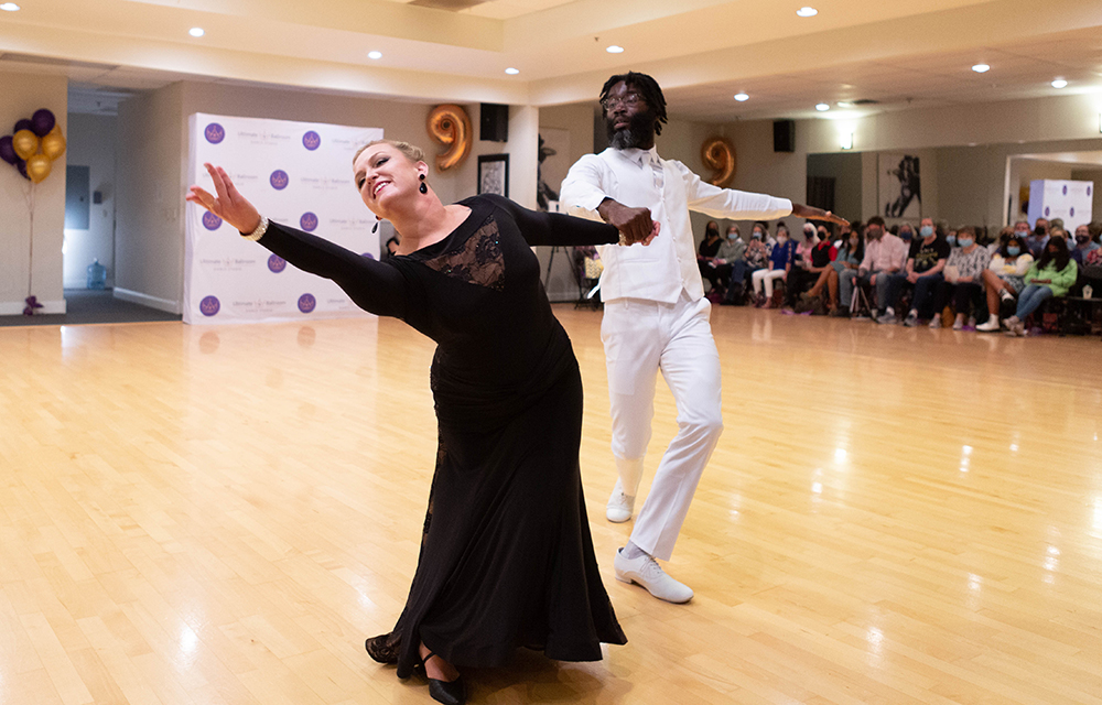 Viennese Waltz Show Dance at Ultimate Ballroom Dance Studio