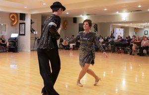 Cha Cha Show Dance at Ultimate Ballroom Dance Studio